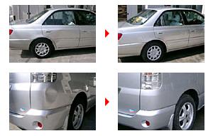 車の修理例